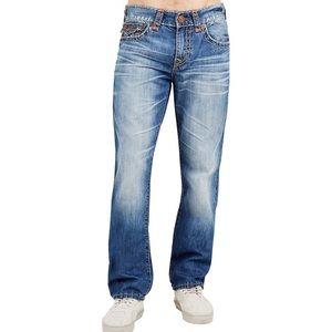 True Religion Ricky Super T straight leg jeans 34